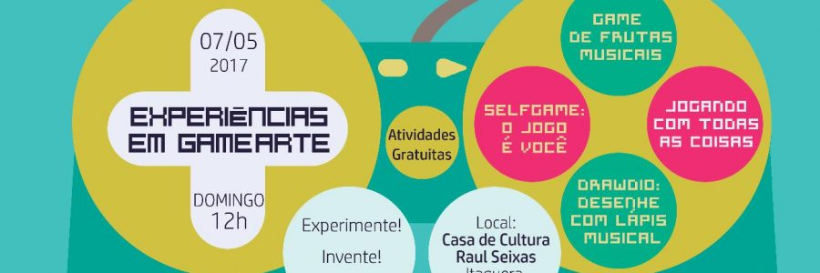 07/05 – Na COHAB II em Itaquera, LINCE organizou Experiências em Gamearte