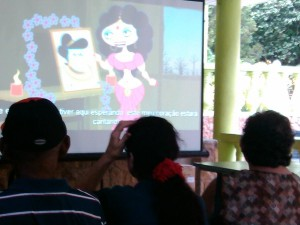 Parque Ecológico Chico Mendes 28/02/2015 - Mostra de Filmes Recicláveis