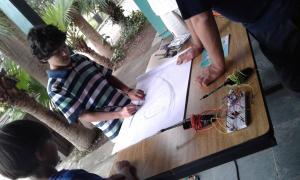 Drawdio Desenhe com lápis musical